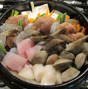 Nabemono, arranged