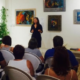 Linda teaching